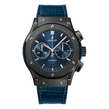 Ceramic Blue Chronograph