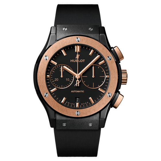 Chronograph Ceramic King Gold