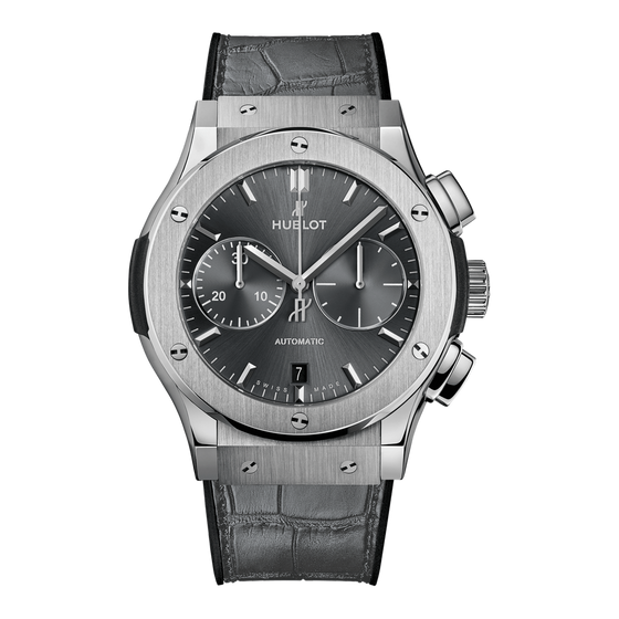 Racing Grey Chronograph Titanium