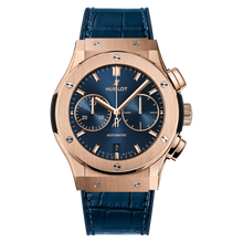 Chronograph King Gold Blue