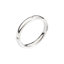 Brisé Ring With Hole For Charm