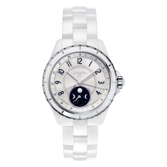 J12 Moonphase Watch