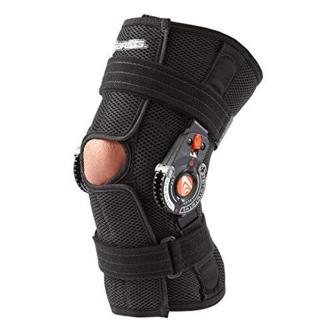 Breg Recover Knee Brace, Short, Airmesh, Open Back, Wraparound
