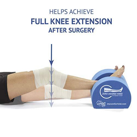 Zero Degree Knee Pillow - Post Surgery Knee Pillows - Knee Shop.com