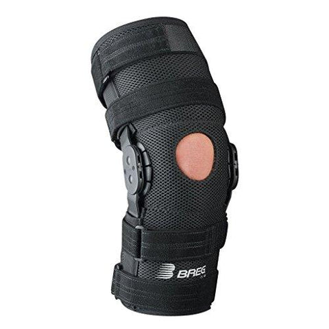 Breg Roadrunner Knee Brace, Airmesh, Open Back, Pull-On (Medium)