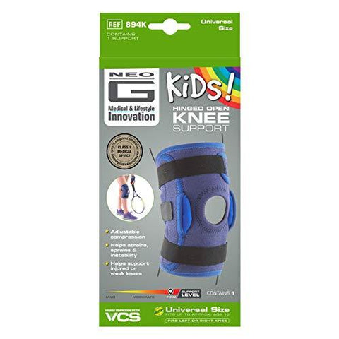 Neo G Knee Brace for Kids, Hinged Open Patella - Knee Shop.com