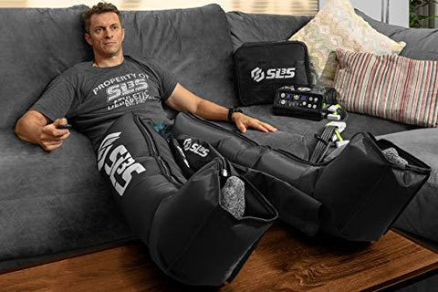 SLS3 Compression Recovery Boots | Leg Sleeves Relax Massager Sports System - Knee Shop.com