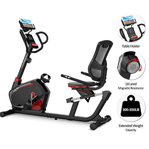 HARISON Magnetic Recumbent Stationary bike - Knee Shop.com