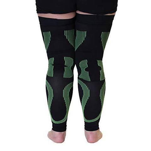 Mojo Compression Stockings Plus Size Thigh Leg Sleeve 20-30mmHg - Knee Shop.com