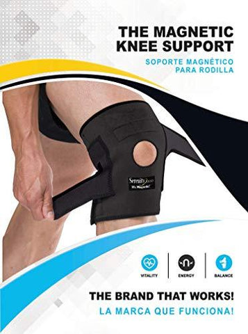 "Serenity2000 Magnetic Therapy Knee Brace for Support and Pain Relief - Large, Fits Knees 18"" - 26"", Contains 28 Magnets - Knee Shop.com"
