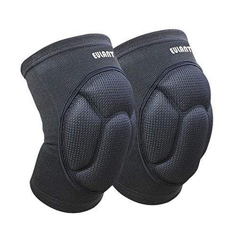 Sborter Protective Knee Pads 1Pair, Thick Sponge Collisioned Kneepads for Sports & Work & Warmth & Pain Relief & Daily Use,Black - Knee Shop.com