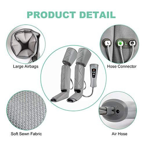 RENPHO Leg Massager for Circulation and Relaxation, Calf Feet Thigh Massage - Knee Shop.com