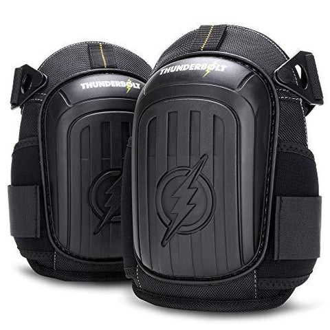 Thunderbolt Knee Pads for Construction, Flooring, Gardening, Cleaning