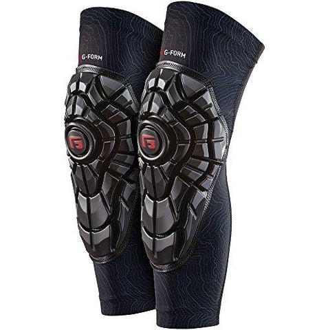 G-Form Elite Knee Guards(1 Pair), Black Topo - Knee Shop.com
