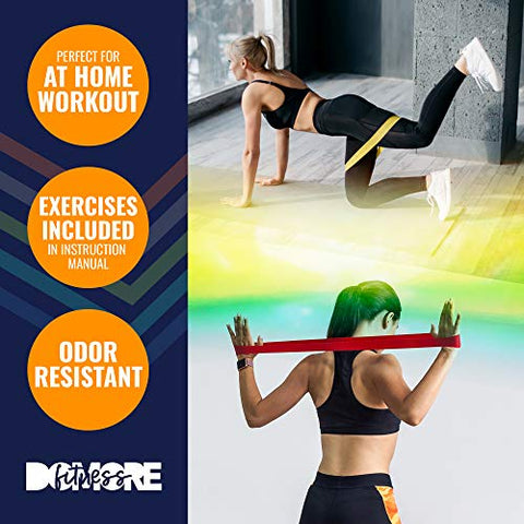 ZUP Resistance Exercise Bands for Home Fitness