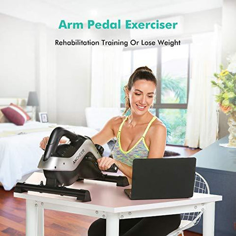 ANCHEER Mini Exercise Bike - Knee Shop.com