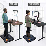 Premium Black Anti-Fatigue Comfort Mat for Standing Workstation