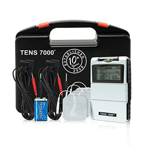 TENS 7000 2nd Edition Digital TENS Unit with Accessories - Knee Shop.com