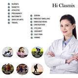 Hi Clasmix Graduated Compression Socks 20-30mmhg Knee High 5 Pr.