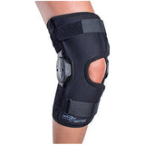 DonJoy Deluxe Hinged Knee Brace, Drytex Wrap Around