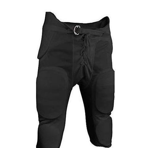 Sports Unlimited Double Knit Adult Integrated Football Pants - Knee Shop.com