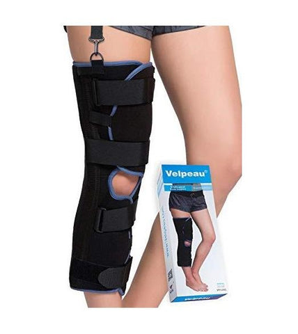 Velpeau Knee Immobilizer - Full Leg Brace - Straight Knee Splint - Knee Shop.com
