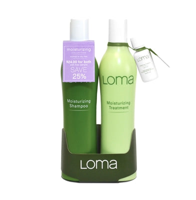 LOMA Moisturizing Shampoo & Conditioner 12oz Duo   ( Daily Offers )