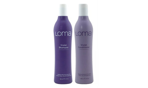 LOMA Violet Shampoo and Violet Conditioner (DUO PACK) 12   { Aug Sale Offer )