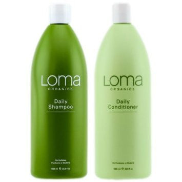 LOMA Daily Shampoo 32oz  & Conditioner 32oz Duo    ( Autumn Sale )