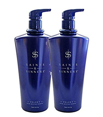 Saints & Sinners Velvet  Conditioner & Shampoo Duo 24oz ( Fall Sale Offer )