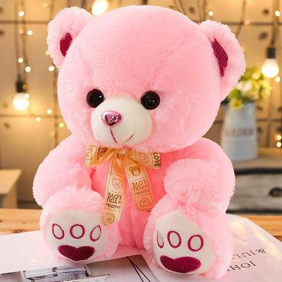 univers-peluche 35cm / Rose Ours en peluche nœud love you