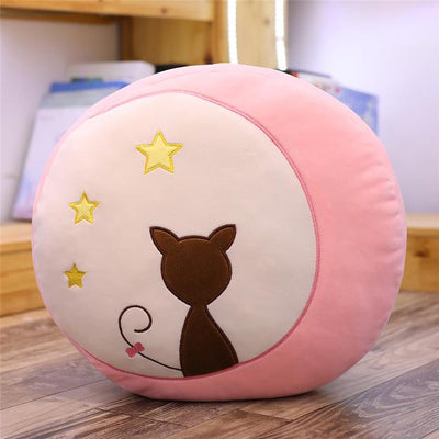 univers-peluche 40cm / Rose Peluche chat ombre chinoise
