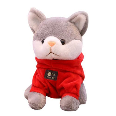 univers-peluche Peluche chat à sweat chat fier
