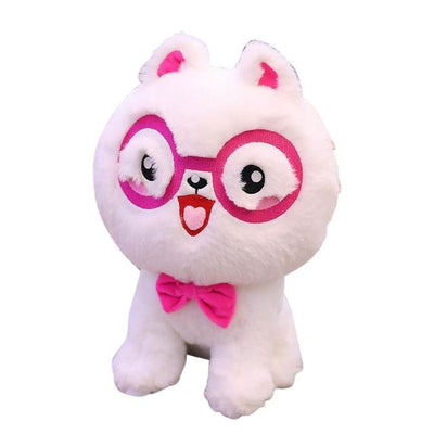 univers-peluche Peluche chat Kitty à lunette