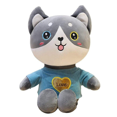 univers-peluche Peluche chat t-shirt love