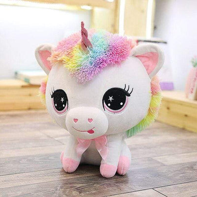 univers-peluche Rose Peluche licorne joueuse