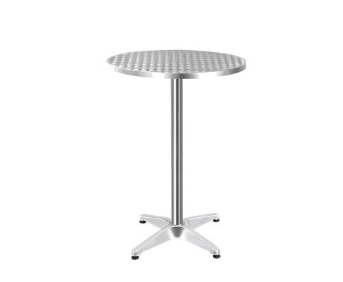 Maynard Bar/Bistro Table -  ROUND - Aluminium