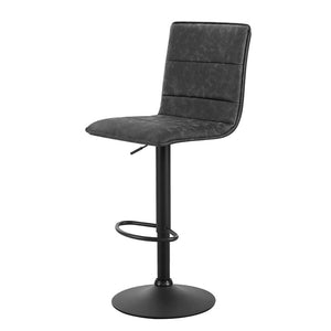 Queen Bar Stool - Black & Marl Grey - Set of TWO
