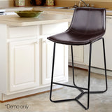 Simmons Bar Stools - Metal Black - Set Of Two [Currently OUT of Stock]