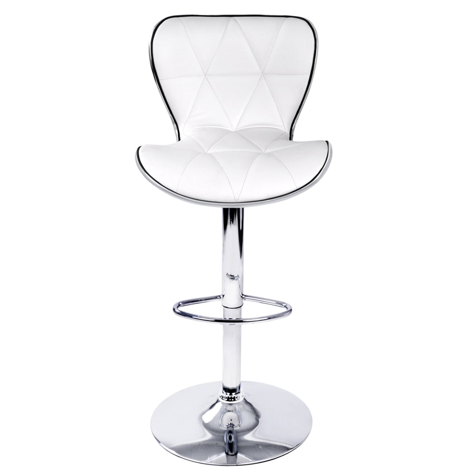 Owen Bar Stools - White - Set Of Two