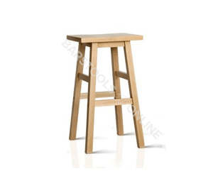 Edwards Bar Stools - Natural (Pine Look) - Set Of Two