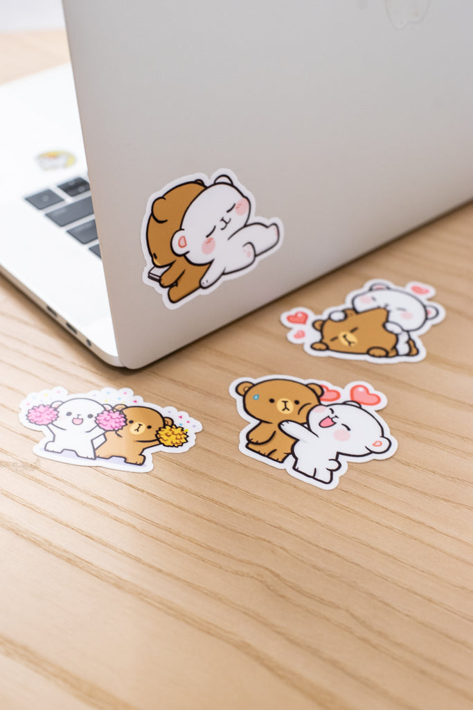 Vinyl Stickers - Milk & Mocha