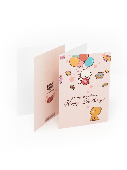 Birthday Card - Milk's Surprise