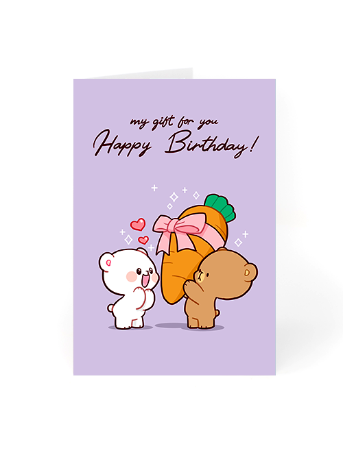 Birthday Card - My gift for you