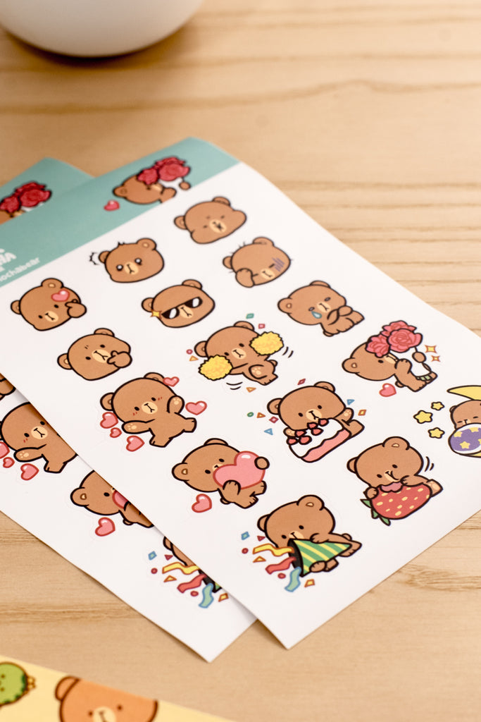 Sticker Pack - Mocha 1st Edition