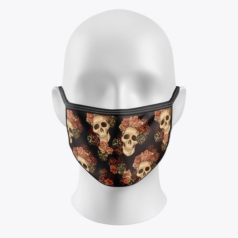 Skull Crown - Cover Mask