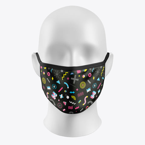 Pattern Black - Cover Mask