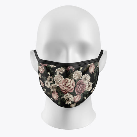 Vintage Flower - Cover Mask