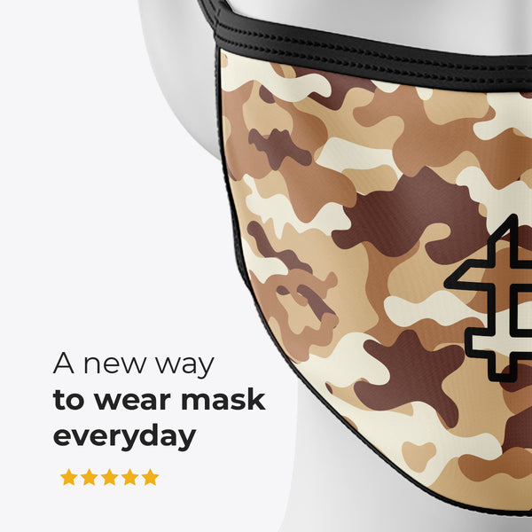 Sand Camouflage - Cover Mask