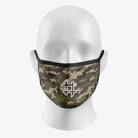 Camouflage  - Cover Mask